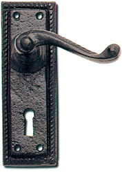 Georgian Lever on Backplate